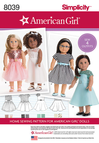 Simplicity 8039 Sewing Pattern