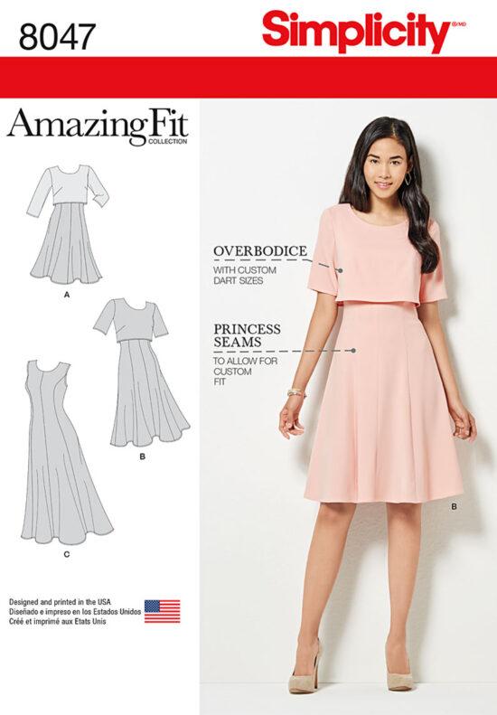 Simplicity 8047 Dress Sewing Pattern
