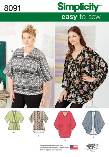 Simplicity 8091 Sewing Pattern
