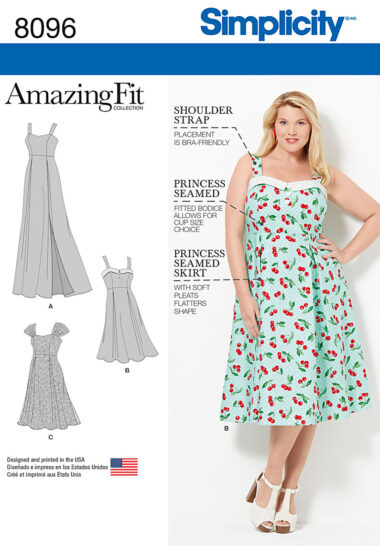 Simplicity 8096 Sewing Pattern
