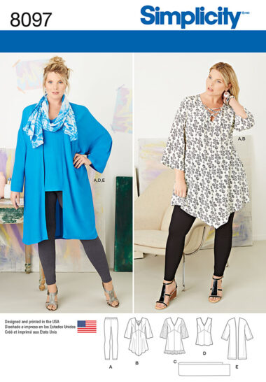 Simplicity 8097 Sewing Pattern