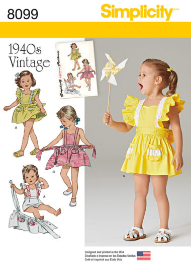 Simplicity 8099 Sewing Pattern