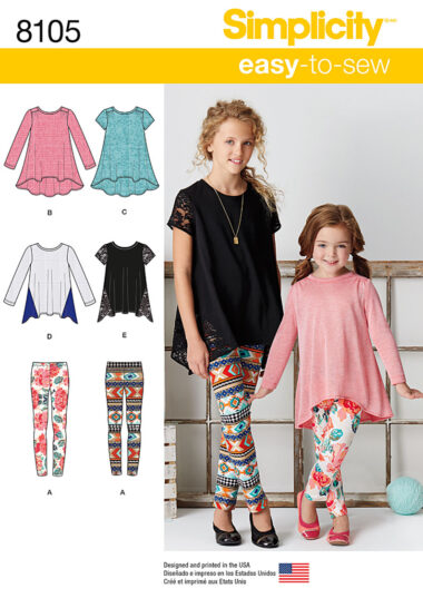 Simplicity 8105 Sewing Pattern