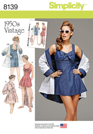 Simplicity 8139 Sewing Pattern