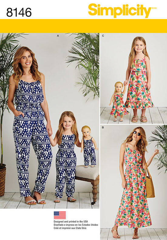 Simplicity 8146 Sewing Pattern