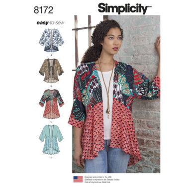 Simplicity 8172 Sewing Pattern