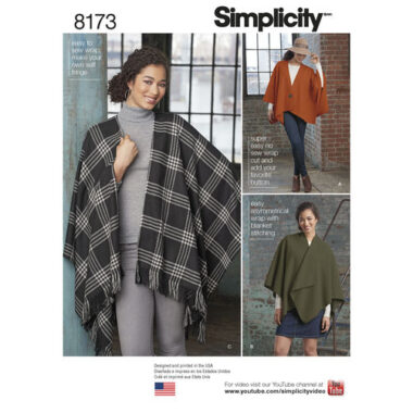 Simplicity 8173 Sewing Pattern