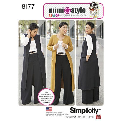 Simplicity 8177 Sewing Pattern