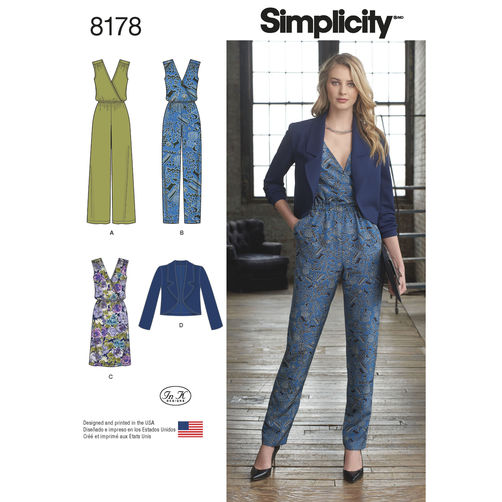 Simplicity 8178 Sewing Pattern