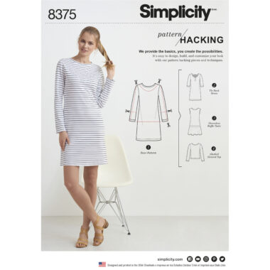 Simplicity 8375 Sewing Pattern