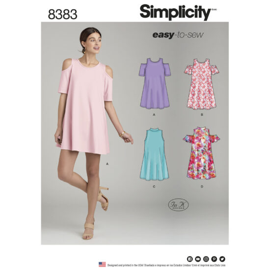 Simplicity 8383 Sewing Pattern