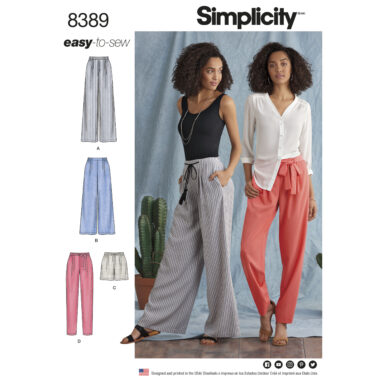 Simplicity 8389 Sewing Pattern