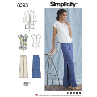 Simplicity 8393 Sewing Pattern
