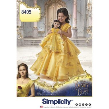 Disney Belle Simplicity 8405 Sewing Pattern