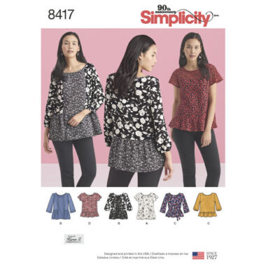 Simplicity 8417 Sewing Pattern