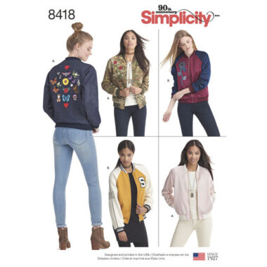 Simplicity 8418 Sewing Pattern