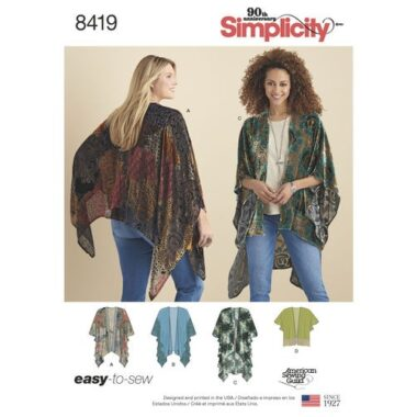 Simplicity 8419 Sewing Pattern