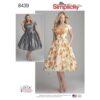 Simplicity 8439 Retro Dress Sewing Pattern