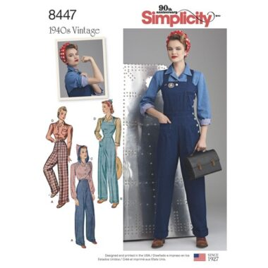 Simplicity 8447 Sewing Pattern
