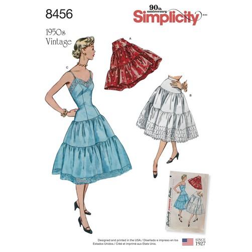 Simplicity Petticoat 8456 Sewing Pattern