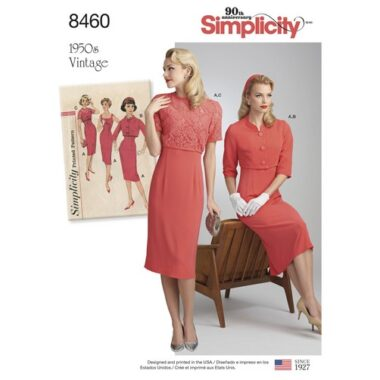 Simplicity 8460 Sewing Pattern
