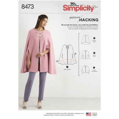 Simplicity 8473 Sewing Pattern