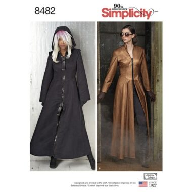 Simplicity 8482 Cosplay Costume Sewing Pattern