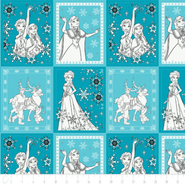 Disney Frozen Book Pages Camelot Fabric