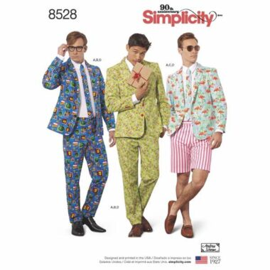 Simplicity 8528 Mens Sewing Pattern