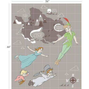 Disney Peter Pan Full Fabric Panel
