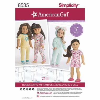 Simplicity 8537 Baby Accessories Sewing Pattern