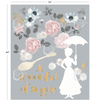 Mary Poppins Spoonful Of Sugar Panel