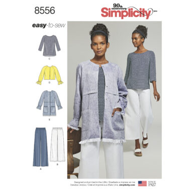 Simplicity Pattern 8556 Women's' Easy To Sew Separates