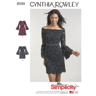 Pattern 8599 Women's / Petite Women's Cynthia Rowley Dresses