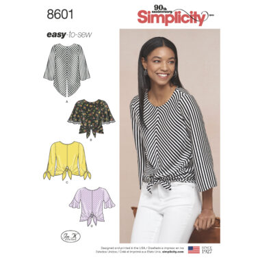 Pattern 8601 Women's Pullover Tops