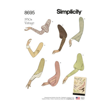 Simplicity 8695 Sewing Pattern