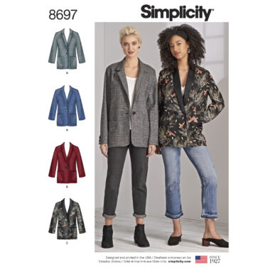 Simplicity 8697 Sewing Pattern