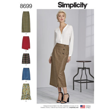 Simplicity 8699 Sewing Pattern