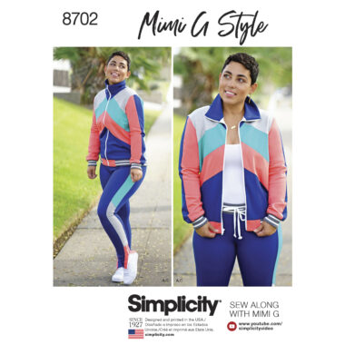 Simplicity 8702 Sewing Pattern