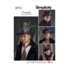 Simplicity 8713 Mens Hat Sewing Pattern