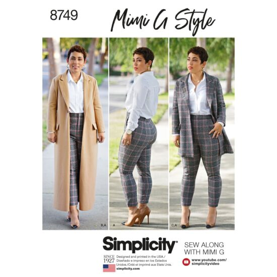 Simplicity 8749 Sewing Pattern