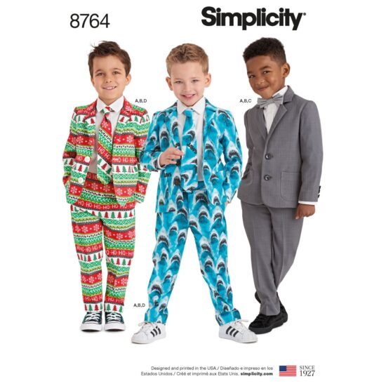 Simplicity 8764 Suit Sewing Pattern