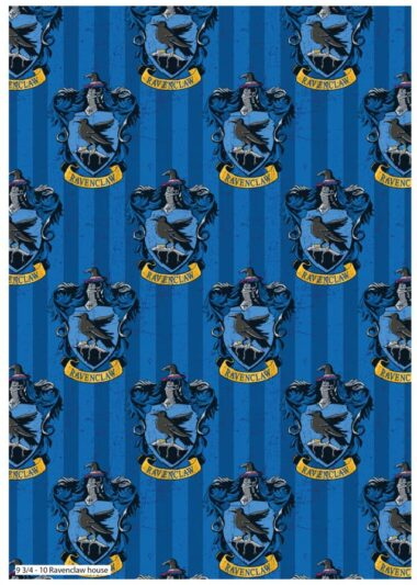 Ravenclaw Harry Potter Fabric