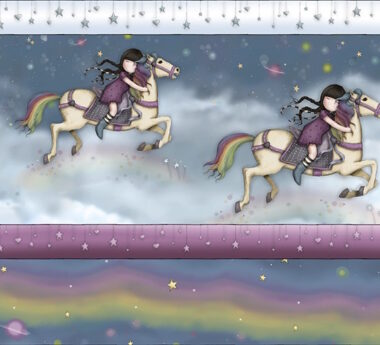 Rainbow Dreams Santoro's Stripe Fabric