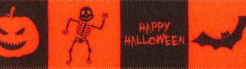 BerIsfords Halloween Friends Ribbon