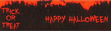 Happy Halloween Ribbon Berisofrds