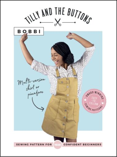 Bobbi Skirt or Pinafore Tilly and The Buttons Sewing Pattern