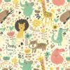 Animal Kingdom Poly Cotton Fabric