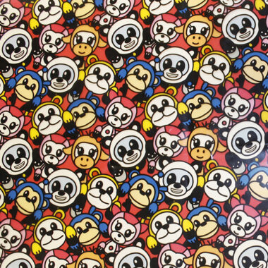 Monkey Raincoat Waterproof Fabric