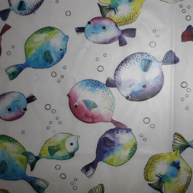 Fish Raincoat Waterproof Fabric